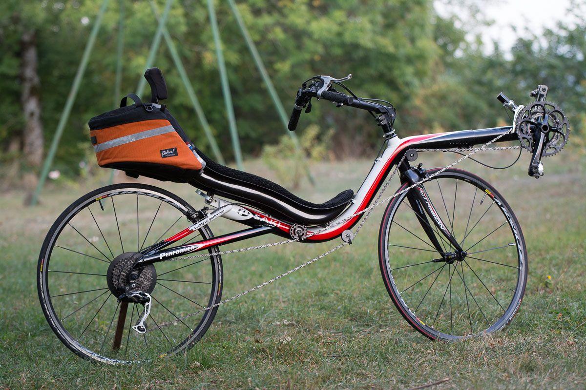 Performer HR 700 Saki - High Racer - RecycleBent - Vélos couchés d